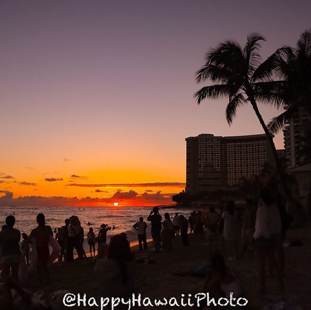 201809hawaii day3 sunset