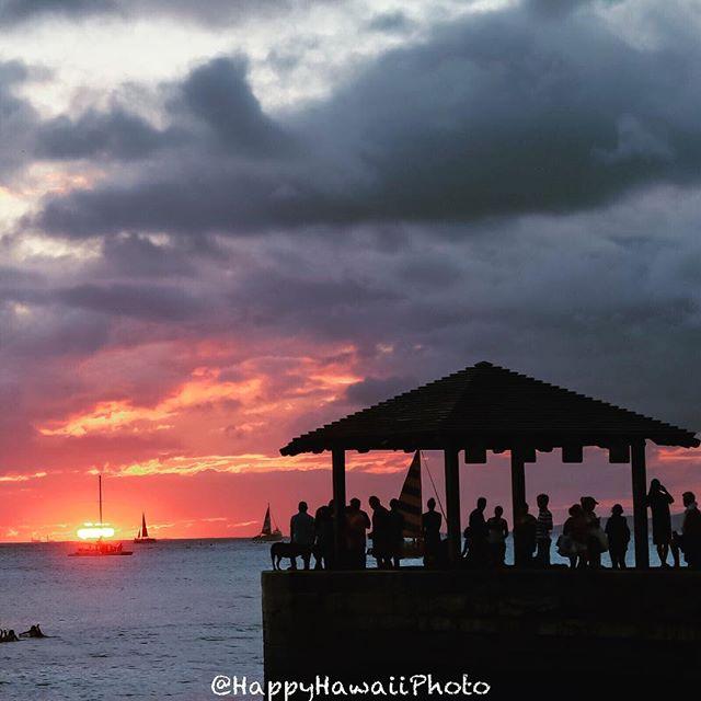 201809hawaii day4 sunset
