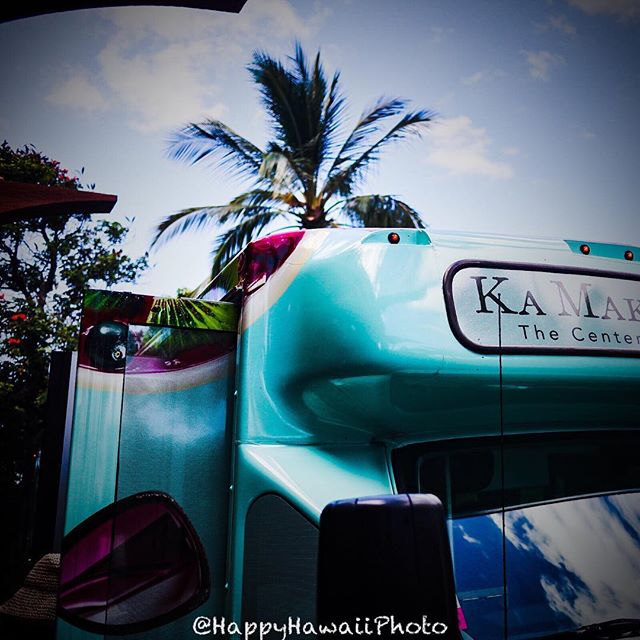 201809hawaii day6 colorful bus